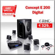 Concept E 200 Digital - Aktion
