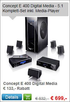 Concept E 400 Digital Media