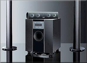 Subwoofer Concept S SW+R Dolby Digital/dts