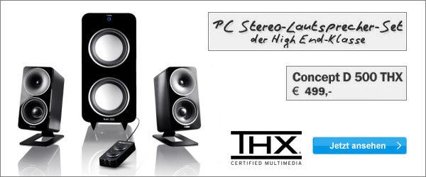 Concept D 500 THX
