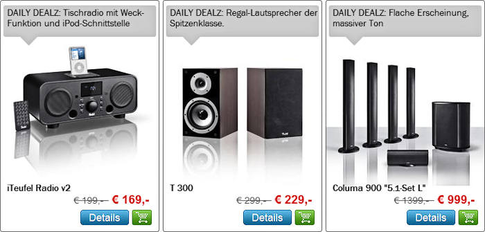 Daily Dealz 28.10.2011