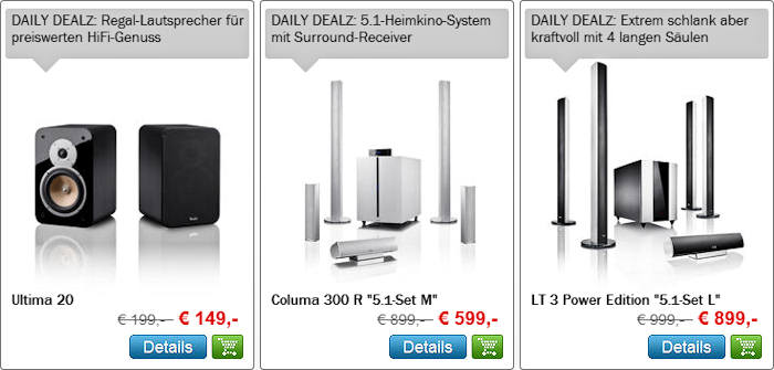 Daily Dealz 31.10.2011