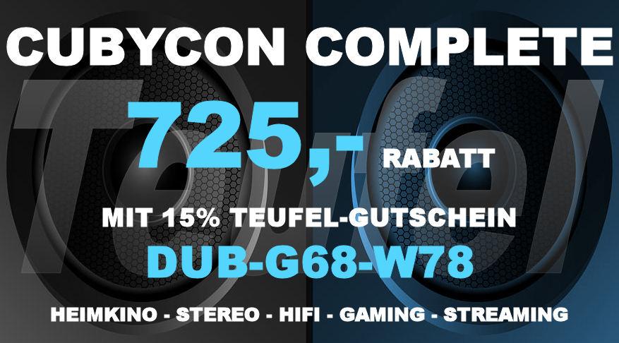 Teufel DUB-G68-W78 - Cubycon Complete