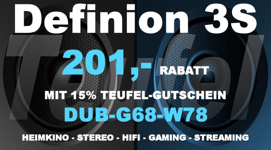 Teufel DUB-G68-W78 - Definion 3S