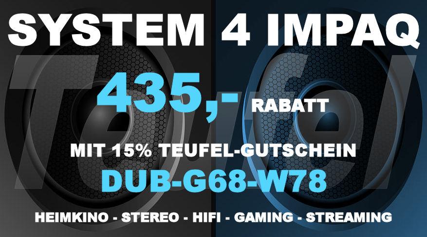 Teufel DUB-G68-W78 - SYSTEM 4 IMPAQ