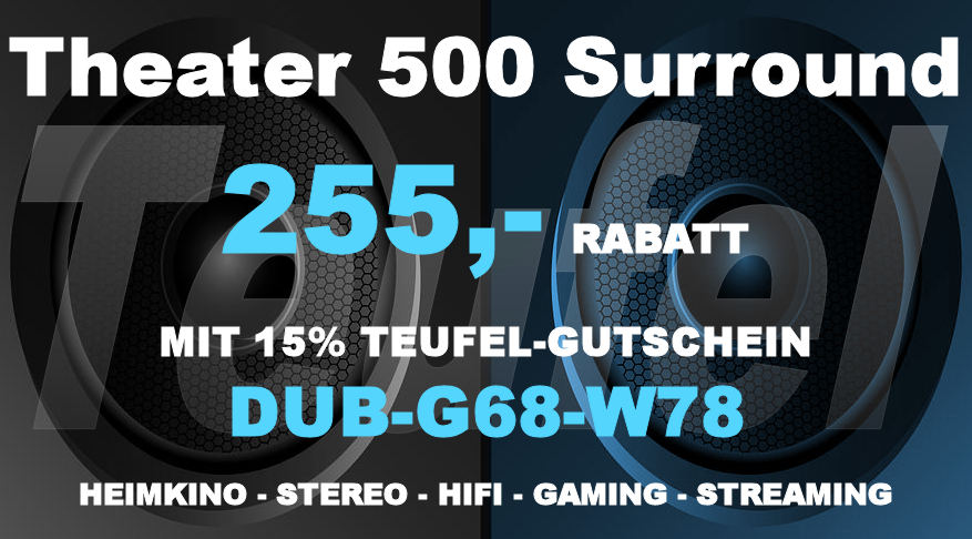 Teufel DUB-G68-W78 - Theater 500 Surround