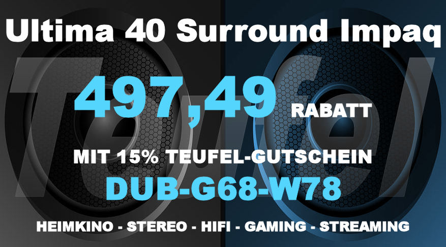 Teufel DUB-G68-W78 - Ultima 40 Surround Impaq