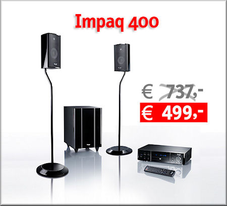 Impaq 400 Heimkino-Set im Winter-Sale