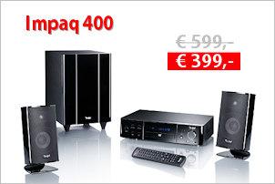 Impaq 400 - 2.1-Heimkino-Komplett-Set - Aktion
