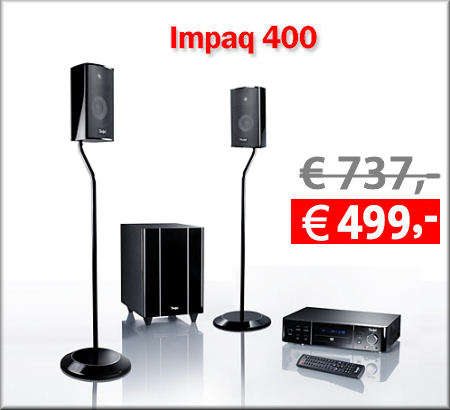 Impaq 400 - Heimkino-Komplett-System