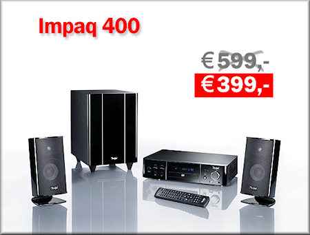 Cinepaq 4400 - Heimkino-Komplett-System