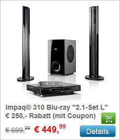 Impaq 310 Blu-ray System