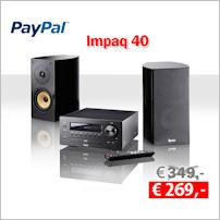 Impaq 40 - Abverkauf