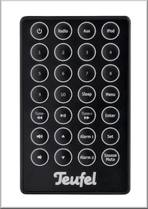 iTeufel Radio remote