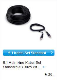 5.1 Heimkino-Kabel-Set
