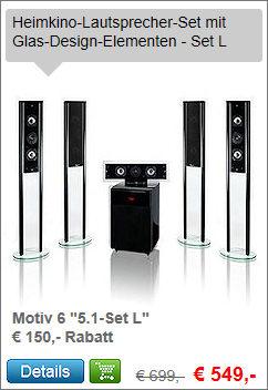 Motiv 6 5.1-Set L