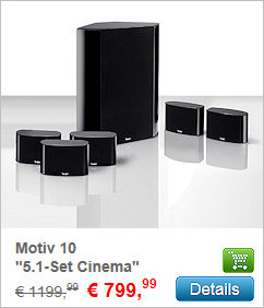 Motiv® 10 5.1-Set Cinema