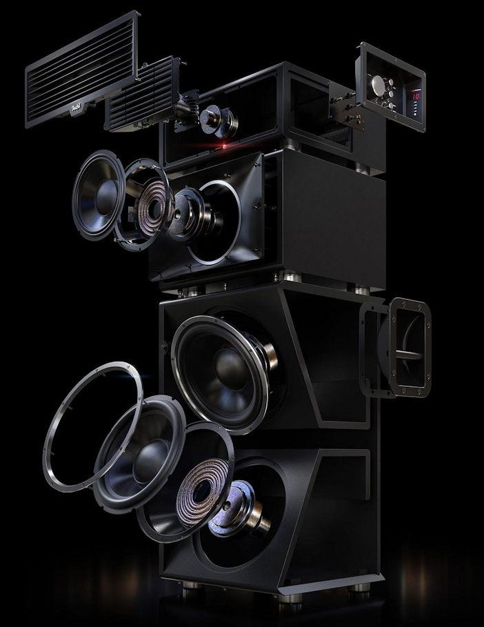 Power HiFi Stereo-Set - Teufel
