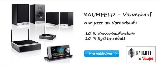 Raumfeld-Vorverkauf