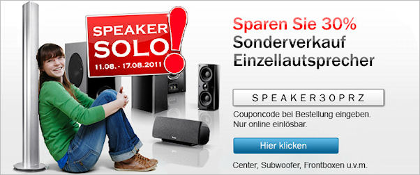 Speaker-Solo 2011 - Aktion