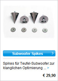 Subwoofer Spikes