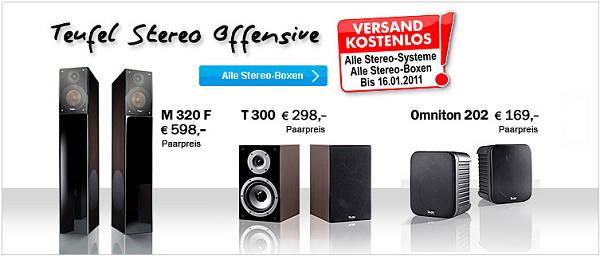 Stereo Lautsprecher Offensive Lautsprecher-Shop