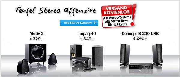Stereo Systeme Offensive Lautsprecher-Shop