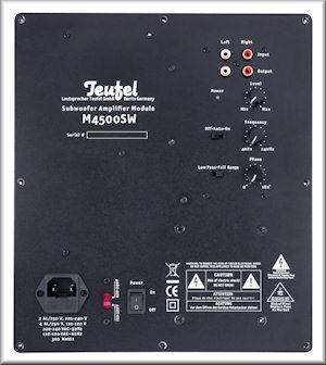 System 4 Subwoofer-Amplifier
