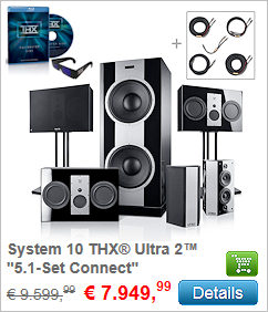 System 10 THX Ultra 2 - 5.1-Set Connect