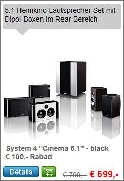System 4 - 5.1-Set Cinema