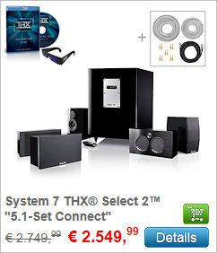 System 7 THX Select 2 - 5.1-Set Connect