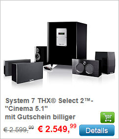 System 7 THX Select 2 - Cinema 5.1