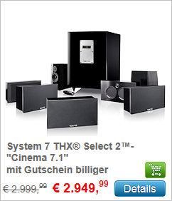 System 7 THX Select 2 - Cinema 7.1