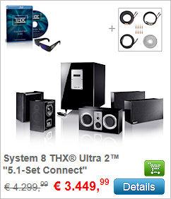 System 8 THX Ultra 2 - 5.1-Set Connect