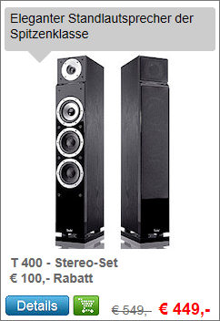 T 400 Stereo-Set