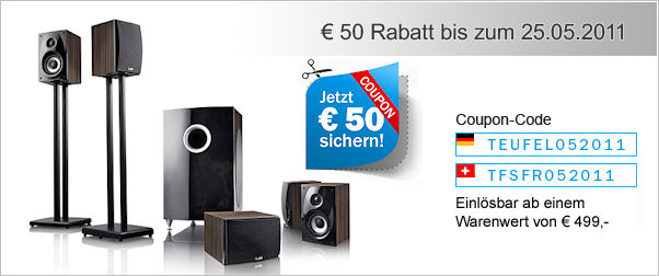 50 EUR Teufel-Coupon