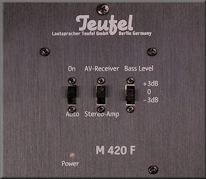Theater 4 Hybrid - Amplifier