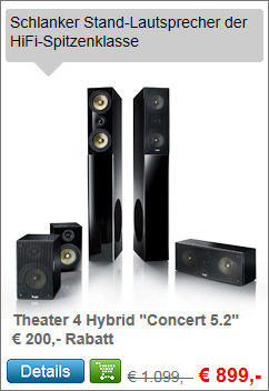 Theater 4 Hybrid - Aktion