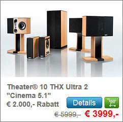 Theater® 10 THX Ultra 2 Cinema 5.1