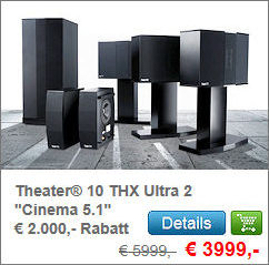 Theater® 10 THX Ultra 2 Cinema 5.1