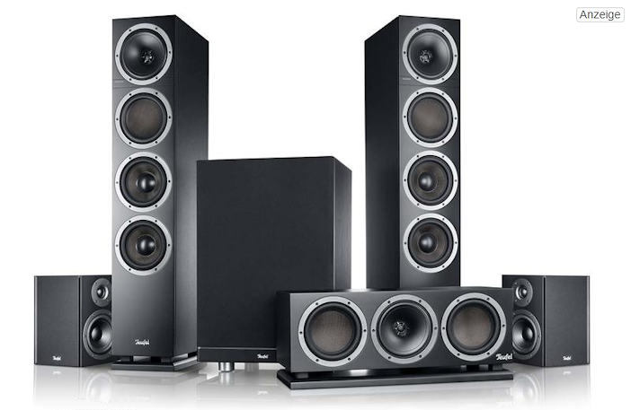 Teufel Theater® 500 Surround - 5.1-Set Cinema