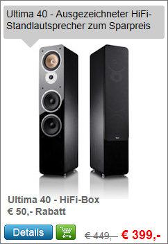 Ultima 40 HiFi-Lautsprecher