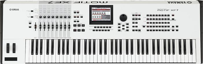 Yamaha Motif XF 7 Synthesizer Workstation